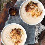 Zuppa di cavolfiore arrostito