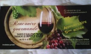 Rencontre de producteurs de vin