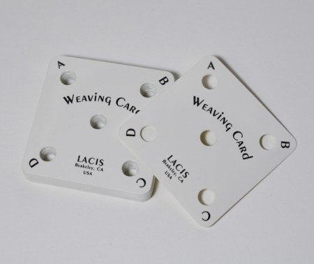 Lacis Card Weaving Cards