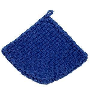 Blue Potholder