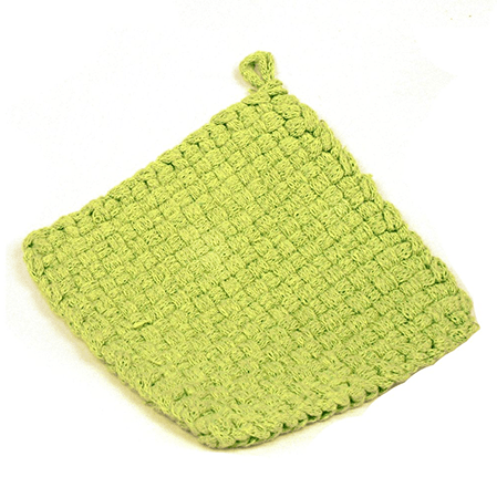 Lime Potholder