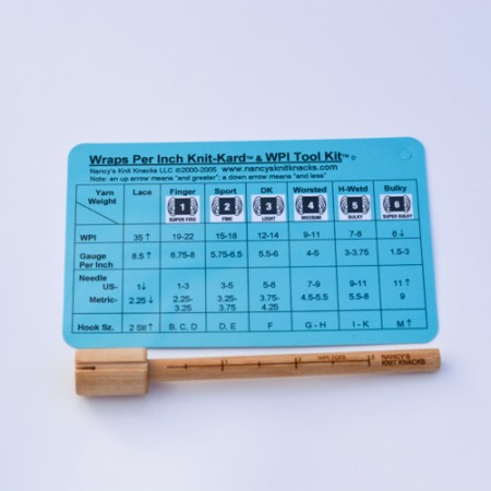 WPI Gauge and Card