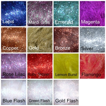 Crystal Metallic Blending Fiber