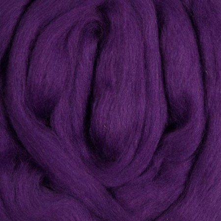 Purple Merino Top