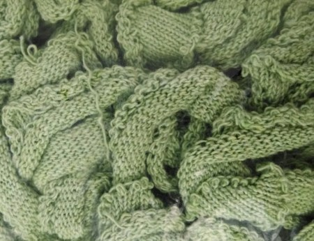 Spring Green Potholder Loop