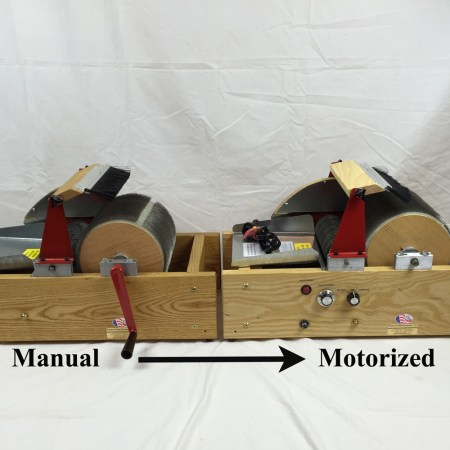 Motorizing Upgrade Kits for Strauch Drumcarders
