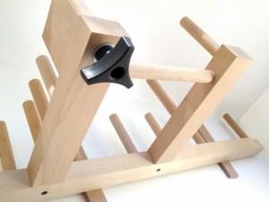 Details of the Ashford Inkle Loom