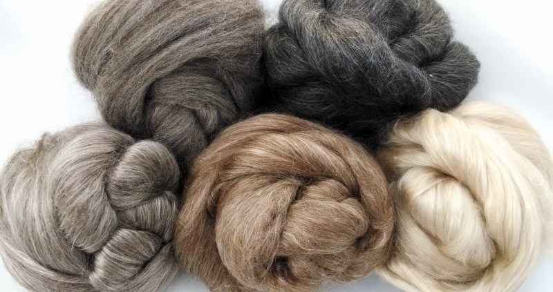 Camel, Yak, Alpaca, Silk and Merino Blends