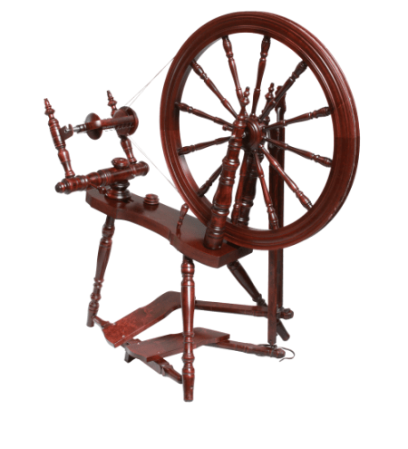 Symphony Spinning Wheel Mahogany Finish