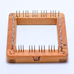 4x4 Blue Butterfly Pin Loom