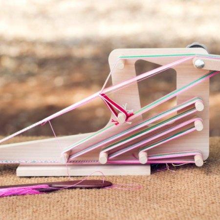 Ashford Inklette Loom - the perfect portable weaving companion!
