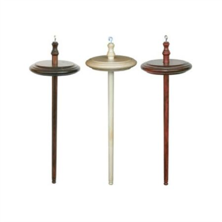 Kromski Spindles - walnut, clear, mahogany.