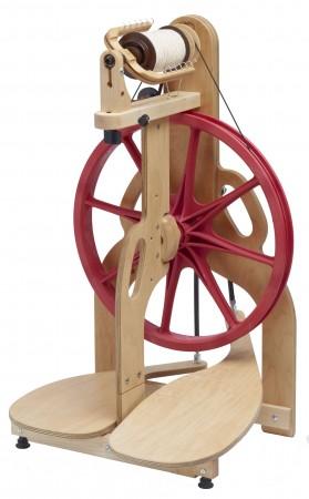 Ladybug spinning wheel.