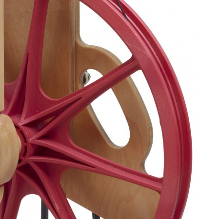 Detail of Ladybug wheel.