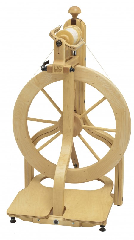 Single Treadle Matchless Spinning Wheel