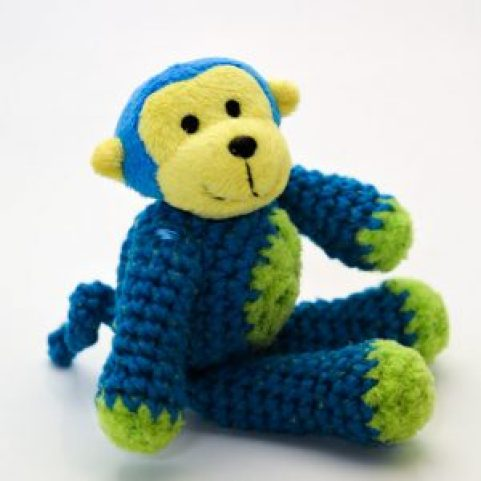 Top This Monkey Crocheted Animal