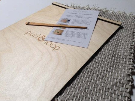 Stash Blaster Placemat Weaving Loom