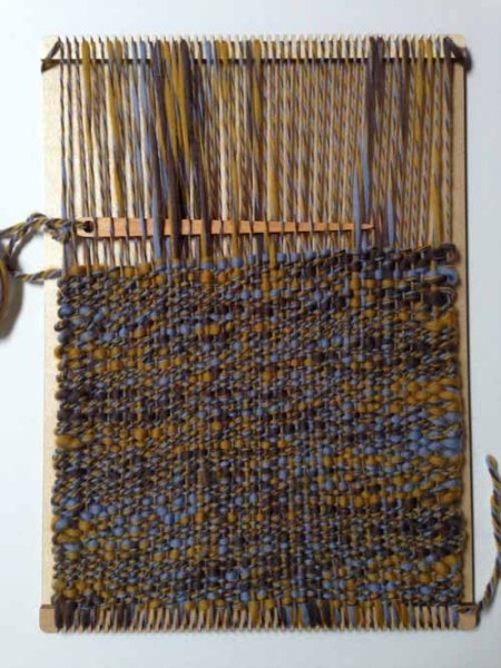 Purl and Loop Weaving Loom