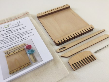 Wee Weaver Mini Loom from Purl and Loop
