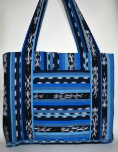 Blue Jaspe Cricket Loom Bag