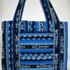 Blue Jaspe Cricket Loom Bag