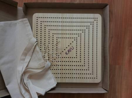 Kayu adjustable pin loom