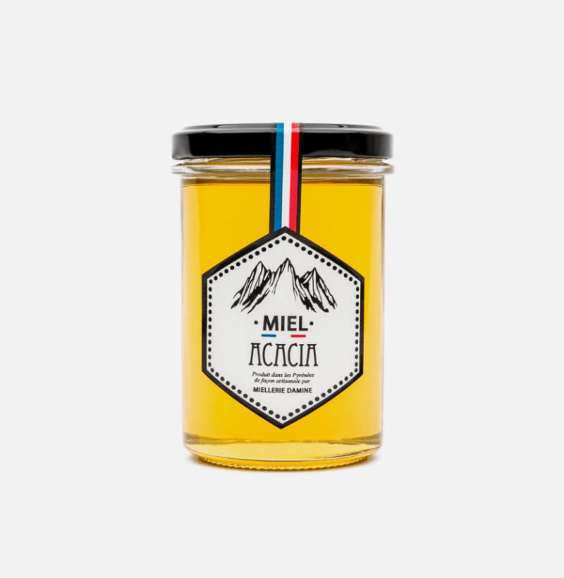 miel acacia miellerie damine