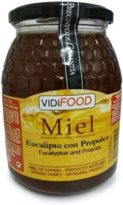 Bote de miel de Eucalipto