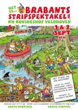 Poster Brabants Stripspektakel 2018