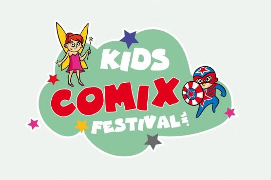 Logo Kids Comix Festival