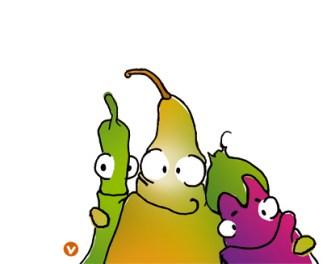 Illustratie Groenten- & Fruitproject
