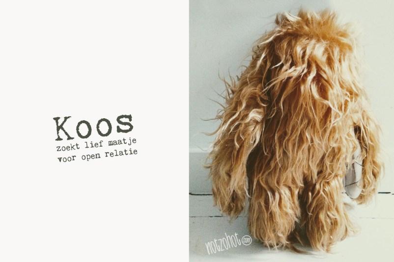 Productadvertentie | Koos knuffel hond