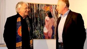 """""""Bildgeschichten"""", Vernissage im Kunst-Werk-Raum, Foto: Johannes M. Faimann"""
