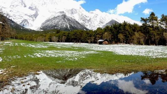 Tauwetter in den Moosalmwiesen, Foto: Knut Kuckel