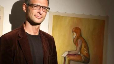 """""""Menschenbilder"""", Ausstellung von Urban Sterzinger, Foto: Knut Kuckel"""