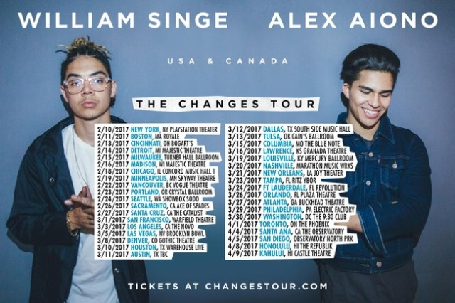 Alex Aiono and William Singe