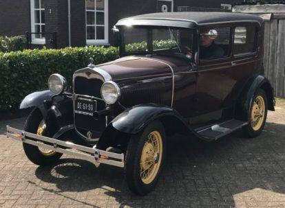 A Ford Tudor Sedan