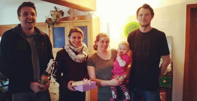 Babybesuch der Landjugend Miesenbach