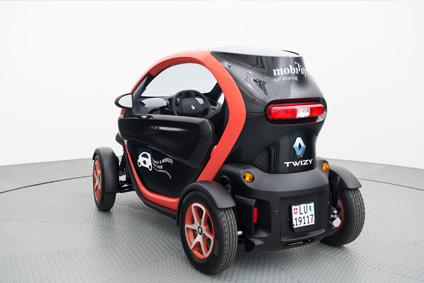 Mobility Carsharing vermietet Renault Twizy
