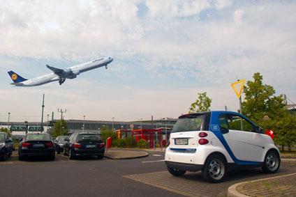 carsharing flughafen