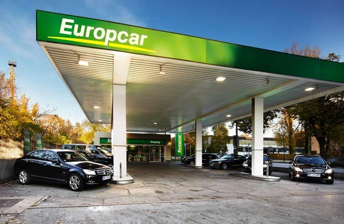 So voll sind derzeit nur wenige Stationen - Mietwagen scheinen Mangelware zu sein. Bild: Europcar