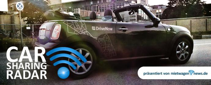 Carsharing-Radar: u.a. DriveNow Start in Wien