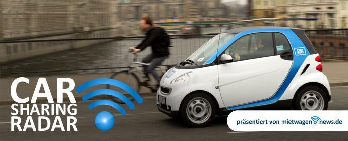 Carsharing-Radar: car2go auf dem Vormarsch