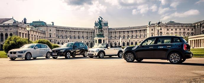 DriveNow startet in Wien