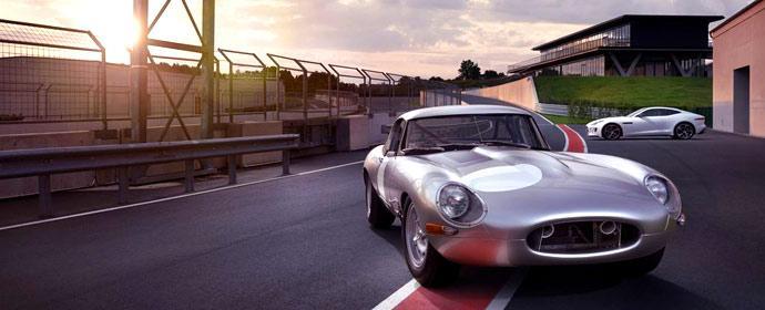 Jaguar Heritage Mietwagen