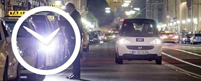 Car2go Minutenpakete: 29 Euro für 120 Minuten, 69 Euro für 300 Minuten