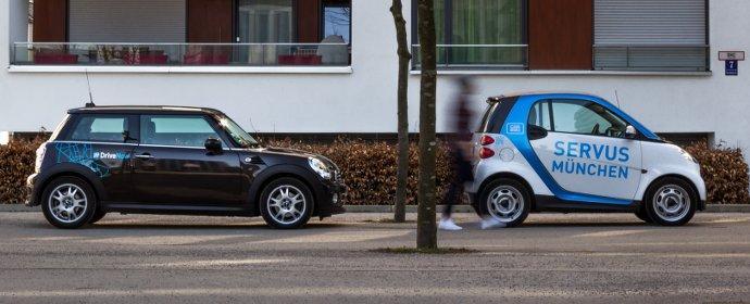 DriveNow und car2go veröffentlichen gemeinsame Mobilitätsstudie