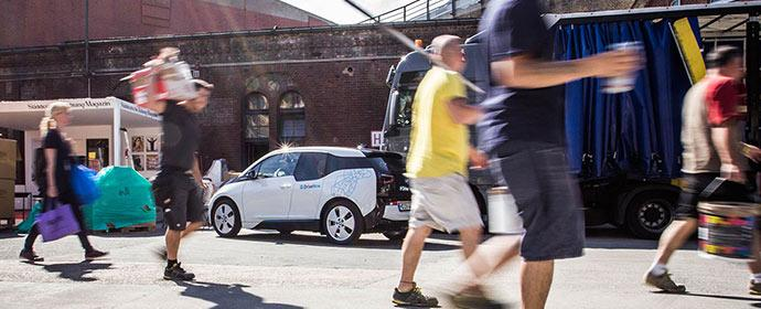 Der BMW i3 kommt in die Flotte von DriveNow