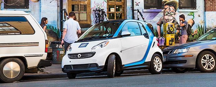 Wer bezahlt eigentlich die Parkgebühren bei Carsharing Autos
