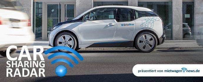 CarsharingRadar - DriveNow bringt den BMW i3 mit Rangeextender nach München und ins Rheinland